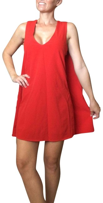 Unbranded Red Cape Mini Dress/ Valentines Day Dress/ Party Dress/ Prom Short Cocktail Dress Size 4 (S) Unbranded Red Cape Mini Dress/ Valentines Day Dress/ Party Dress/ Prom Short Cocktail Dress Size 4 (S) Image 1