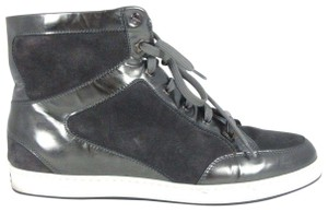 Jimmy Choo Casual Patent Leather Sporty Black Athletic