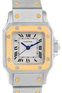 Cartier Cartier Santos Galbee Steel 18K Yellow Gold Ladies Watch 1567