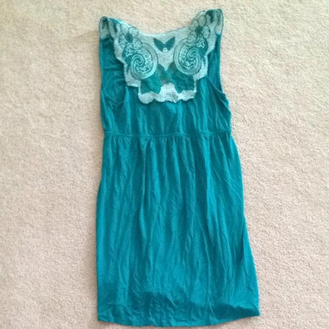 Forever 21 short dress Teal on Tradesy