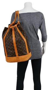 Louis Vuitton Monogram Leather Luxury European Limited Edition Backpack