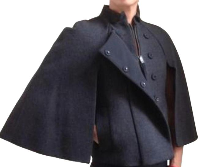 Item - Dark Gray Heather Cape Coat Size 00 (XXS)