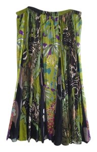 Soft Surroundings Maxi Skirt Jungle Greens, violets, browns, blacks, blue, red and yellow too!