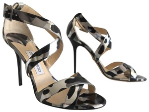 Jimmy Choo Camouflage Leopard Steel Camo Pumps