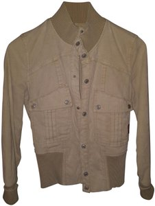 7 For All Mankind Tan Jacket