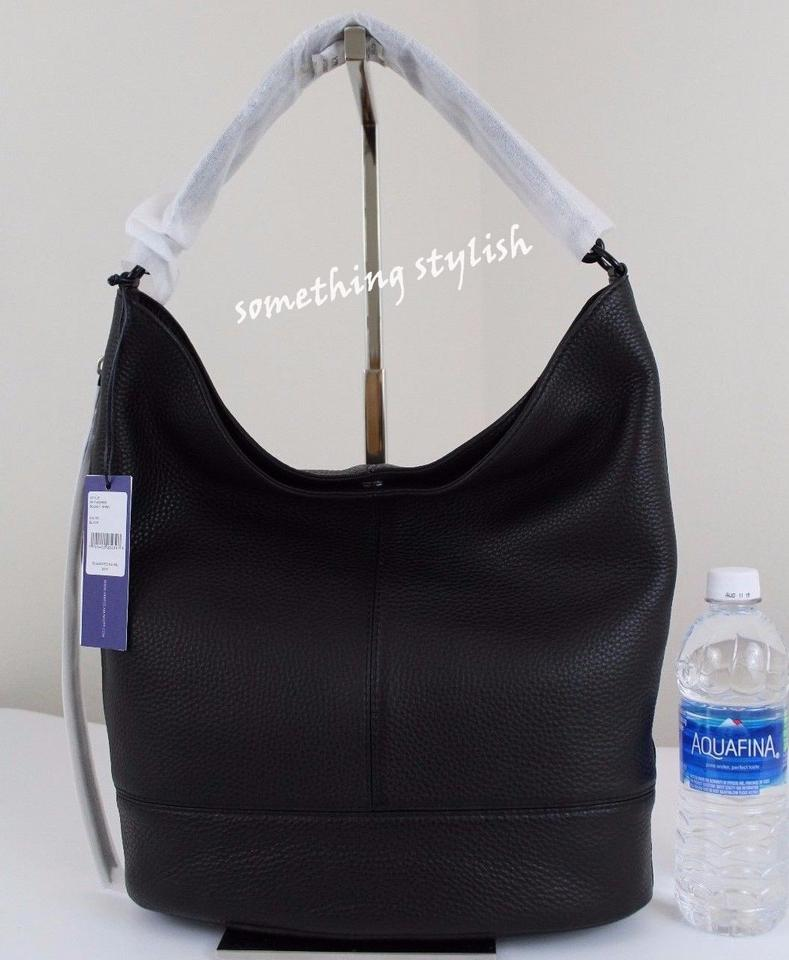 15d746732dd Rebecca Minkoff Bucket Hobo Black Leather Shoulder Bag - Tradesy