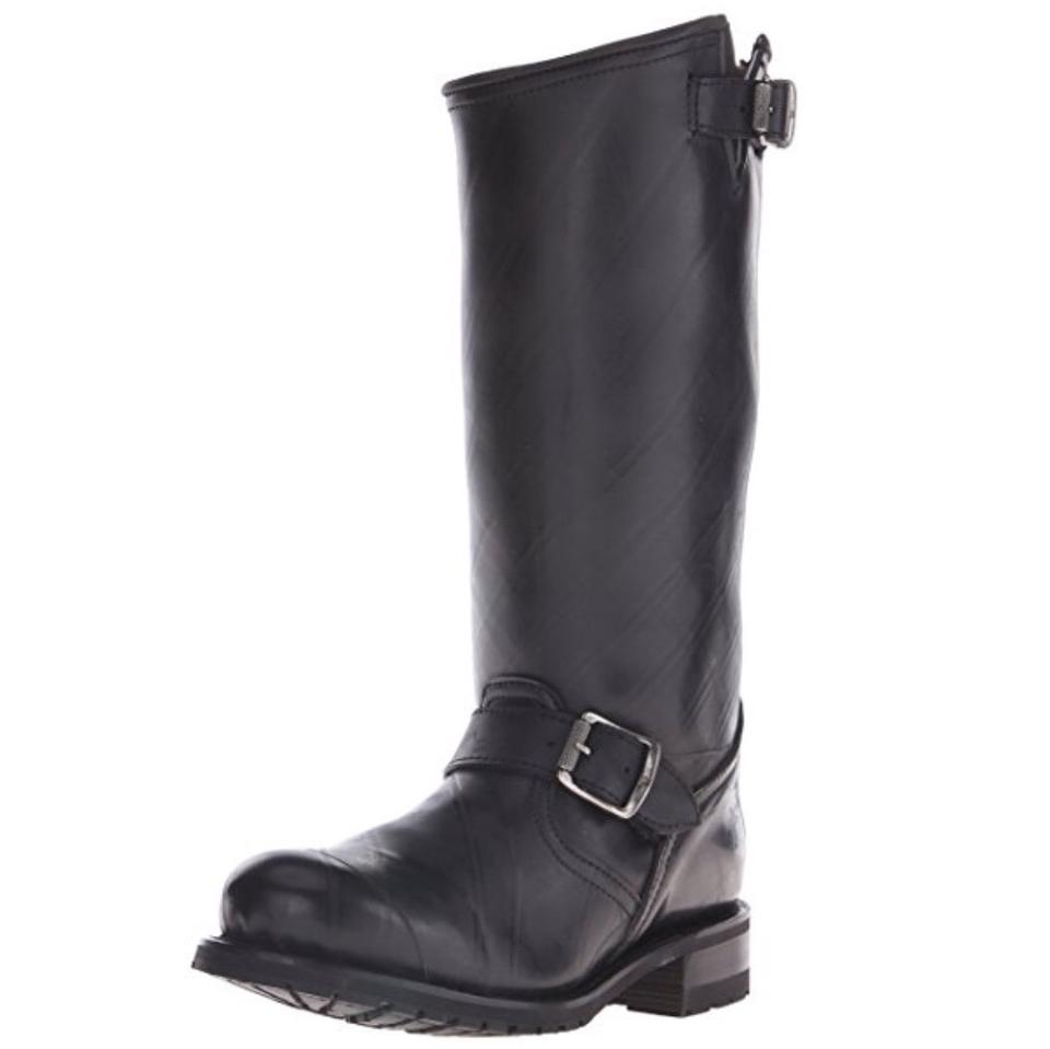 Ladies Frye Black Engineer costs Shearling-lined Boots/Booties Low costs Engineer be07a2