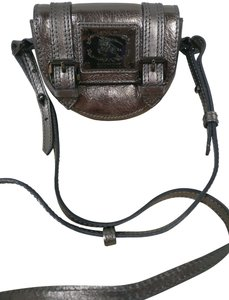 Burberry Mini Leather Buckle Bridle Cross Body Bag
