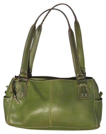 Preload https://item5.tradesy.com/images/fossil-pure-buttery-detailed-stitching-green-leather-satchel-2244019-0-0.jpg?width=440&height=440