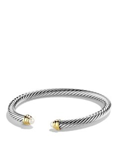 David Yurman David Yurman Cable Classics 5mm Bracelet with Pearls