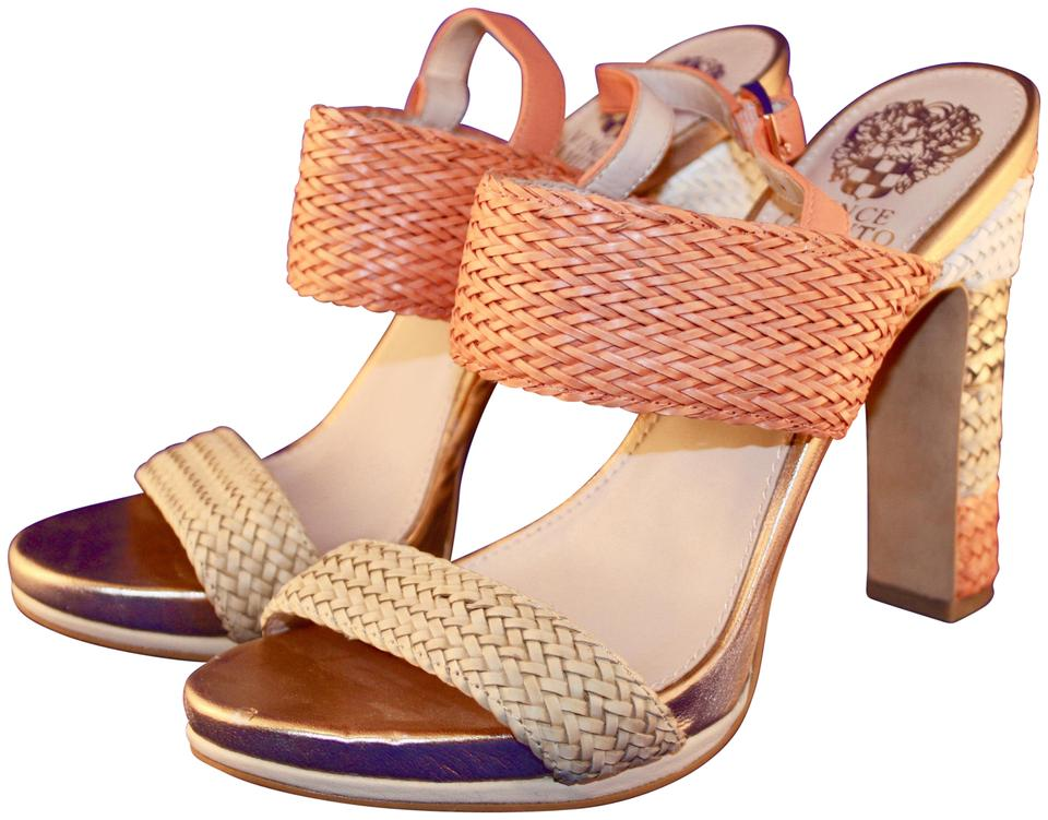 a4767ac7550 Vince Camuto Coral Adrien Leather 3326 Sandals Size US 7.5 Regular ...