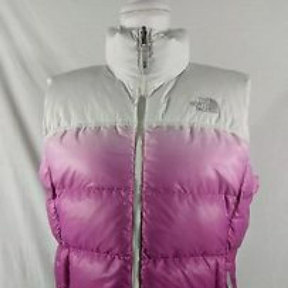 6c7a91f580 The North Face Pink Ombre 700 Down Vest Size 8 (M) - Tradesy