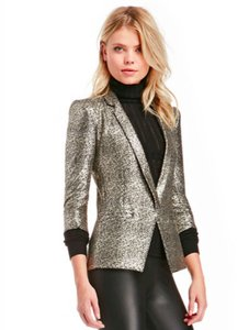 Capulet Holiday Metallic Gold Blazer