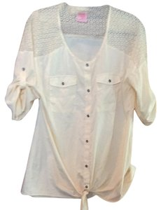 Ivory Maternity Blouse