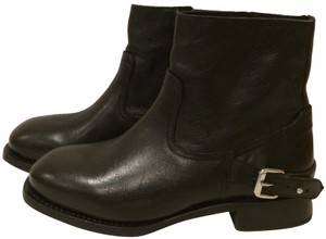 8770cfbaa3f Rag   Bone Black New Oliver Buckle Leather Ankle Boots Booties. Size  US 6.5  ...