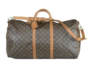 LOUIS VUITTON Lv Keepall Bandouliere Cross Body Bag