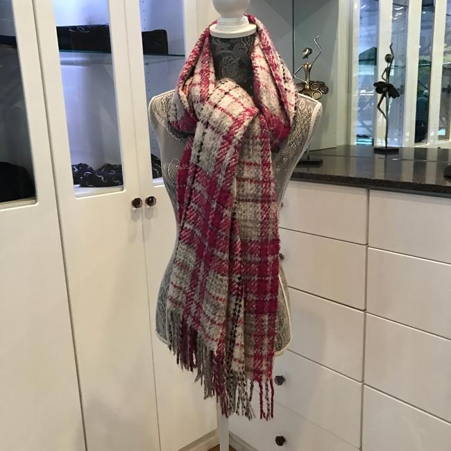 Item - Pink Multi Other Variations Plaided Print Scarf/Wrap