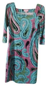 Lilly Pulitzer Designer Silk Dress