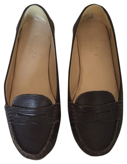 Talbots Brown Leather Flats