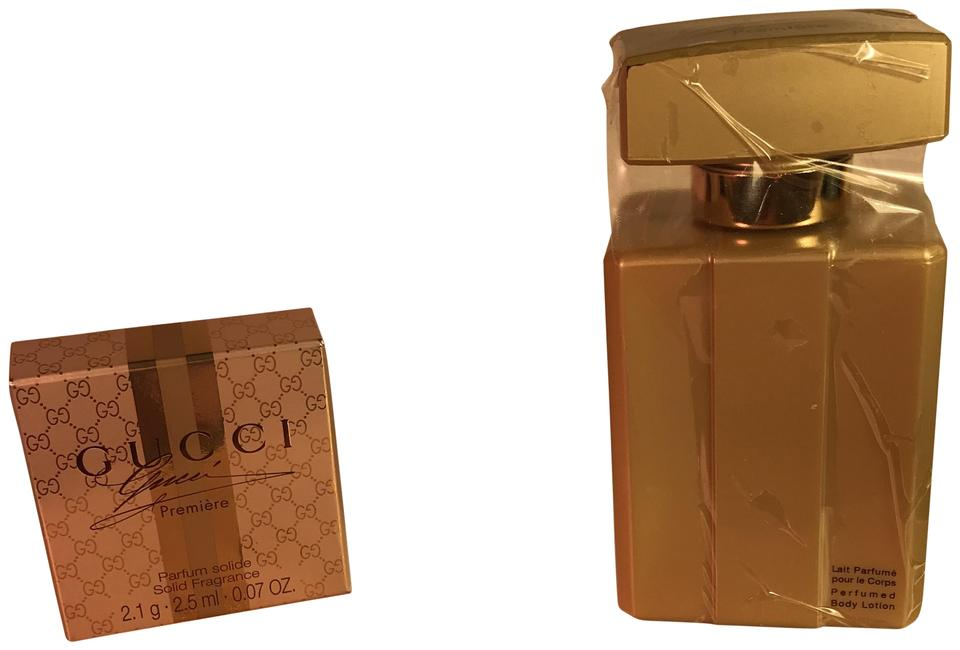 Gucci Gold Premiere Solid Parfumerie And Body Lotion Fragrance Tradesy