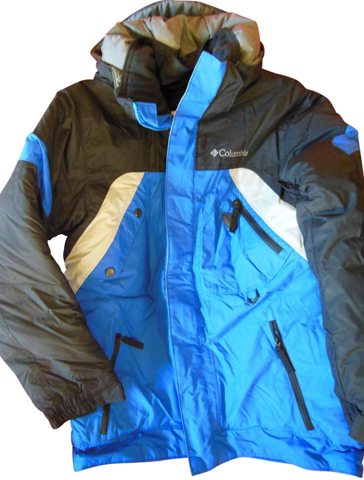 Columbia Sportswear Company Blue Snow Ski Winter Black
