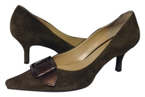 Circa Joan & David Moss (dark green) Pumps