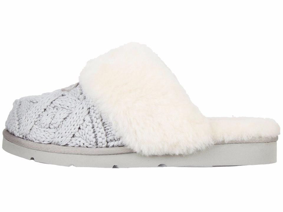 f7caff1a76c5 UGG Australia Seal Women's Cozy Cable Knit Slippers 1019666 Boots ...