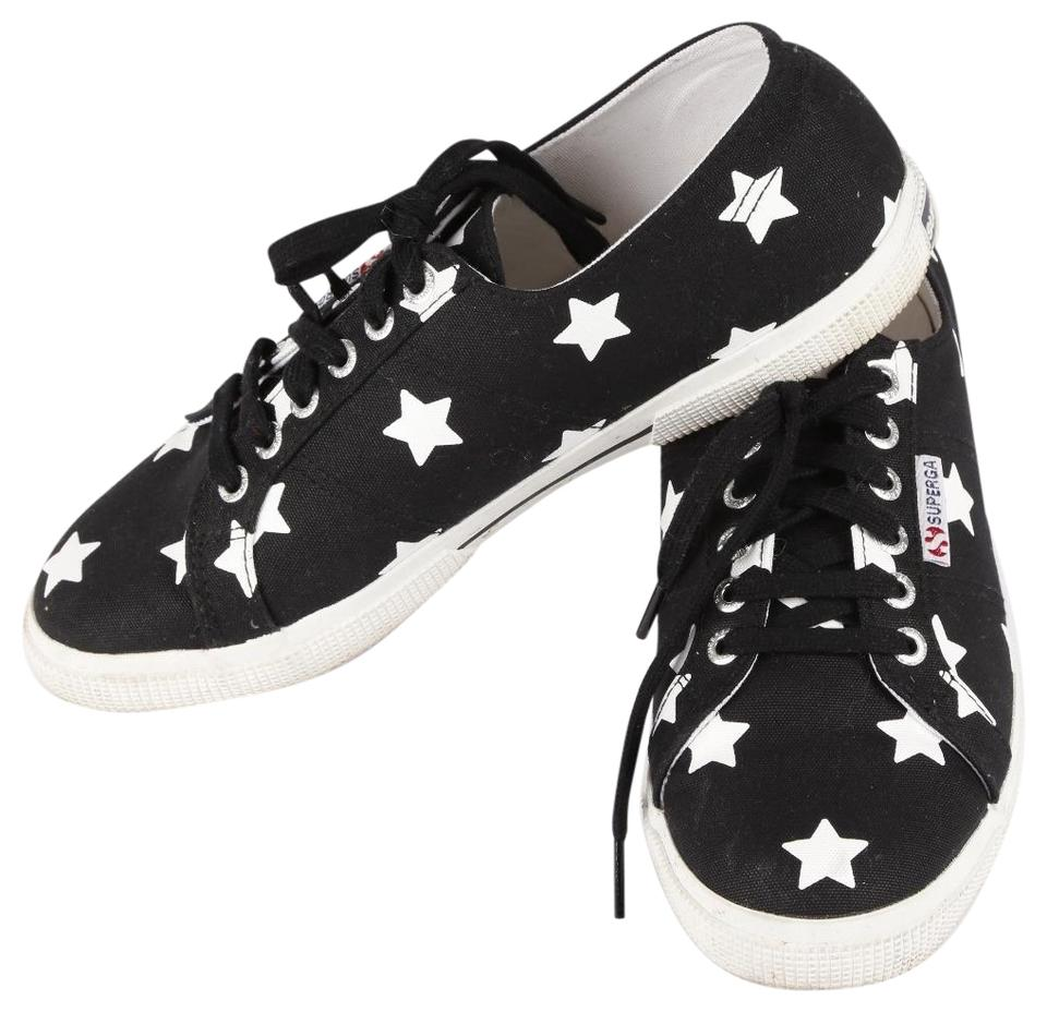 8dea783a0648 Superga Black Star Cotton Sneakers Sneakers Size US 8.5 Regular (M ...