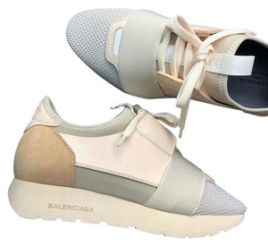 Balenciaga Cream, tan, nude Athletic