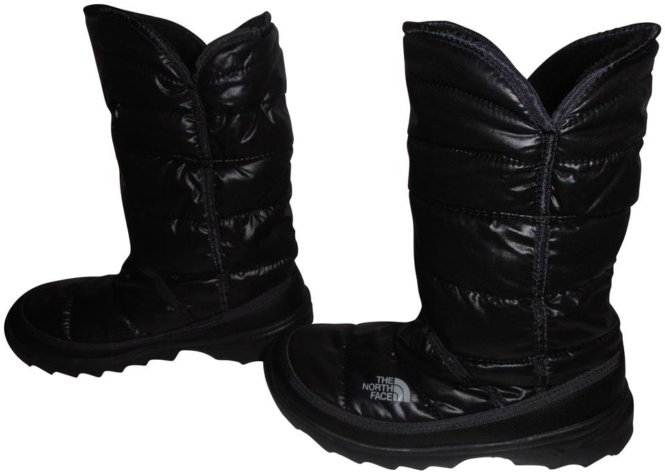 9781e65d9 The North Face Black Quilted Winter Roll Down Boots/Booties Size US 5  Regular (M, B)
