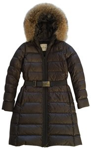 Moncler Down Gray Coat