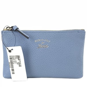 Gucci 368880 Pouch Leather Leather Blue Clutch