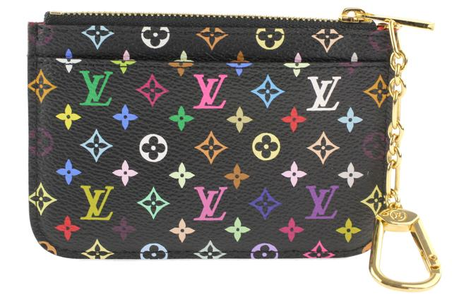 Item - Mutlicolore Monogram Black Pochette Cles Key Holder