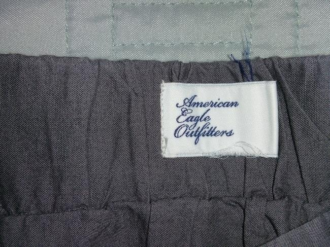 American Eagle Outfitters Mini Skirt gray
