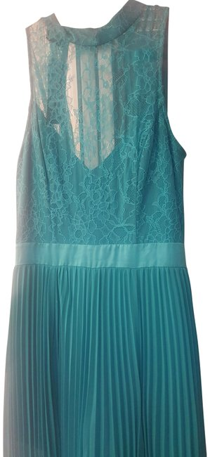 Item - Green Long Night Out Dress Size 4 (S)