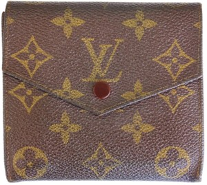 Louis Vuitton LOUIS VUITTON MONOGRAM MENS MULTIPLE TRIFOLD CREDIT CARD WALLET