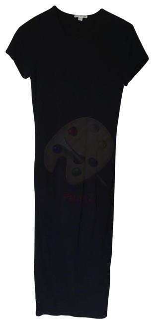 Item - Navy Classic Skinny Mid-length Casual Maxi Dress Size 10 (M)