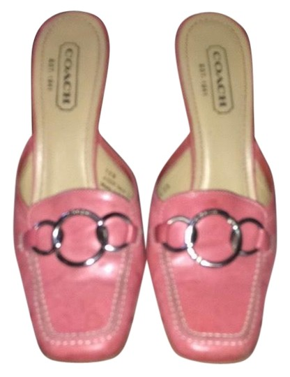 Preload https://item1.tradesy.com/images/coach-pink-mules-2244365-0-1.jpg?width=440&height=440