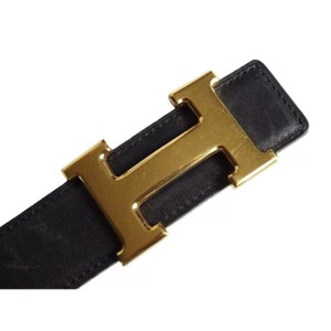 Herms Constance H Reversible Belt Logos