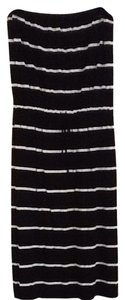 Black And White Stripe Maxi Dress by J.Crew