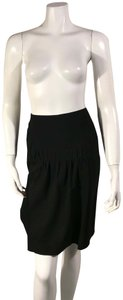 Pringle of Scotland Wool Mini Skirt Black