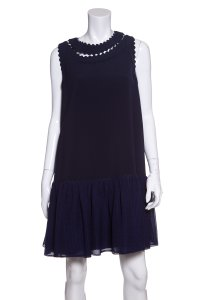 Roksanda Ilincic short dress Navy on Tradesy
