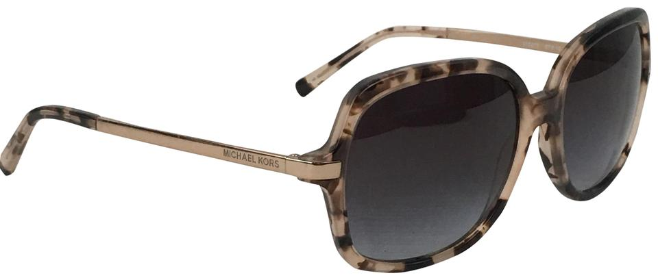 f62465aafcb Michael Kors Brown Adrianna Ii Mk 2024 Tortoise Gold Arms with Case  Sunglasses