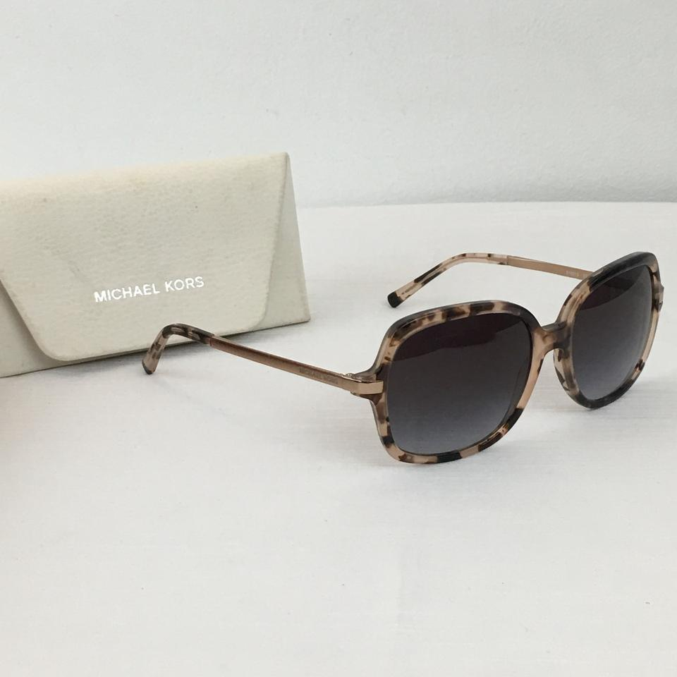 8cd5c47af47 Michael Kors MICHAEL KORS Adrianna II MK 2024 Tortoise Sunglasses Gold Arms  With Case Image 6. 1234567