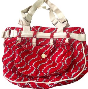 Marc Jacobs Tote in Red and White