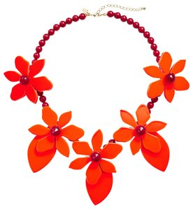 Kate Spade KATE SPADE NEW Lovely Lilies Sculptural Necklace NWT