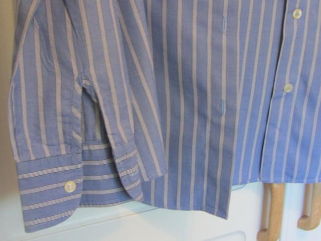 Giorgio Armani Top blue stripe