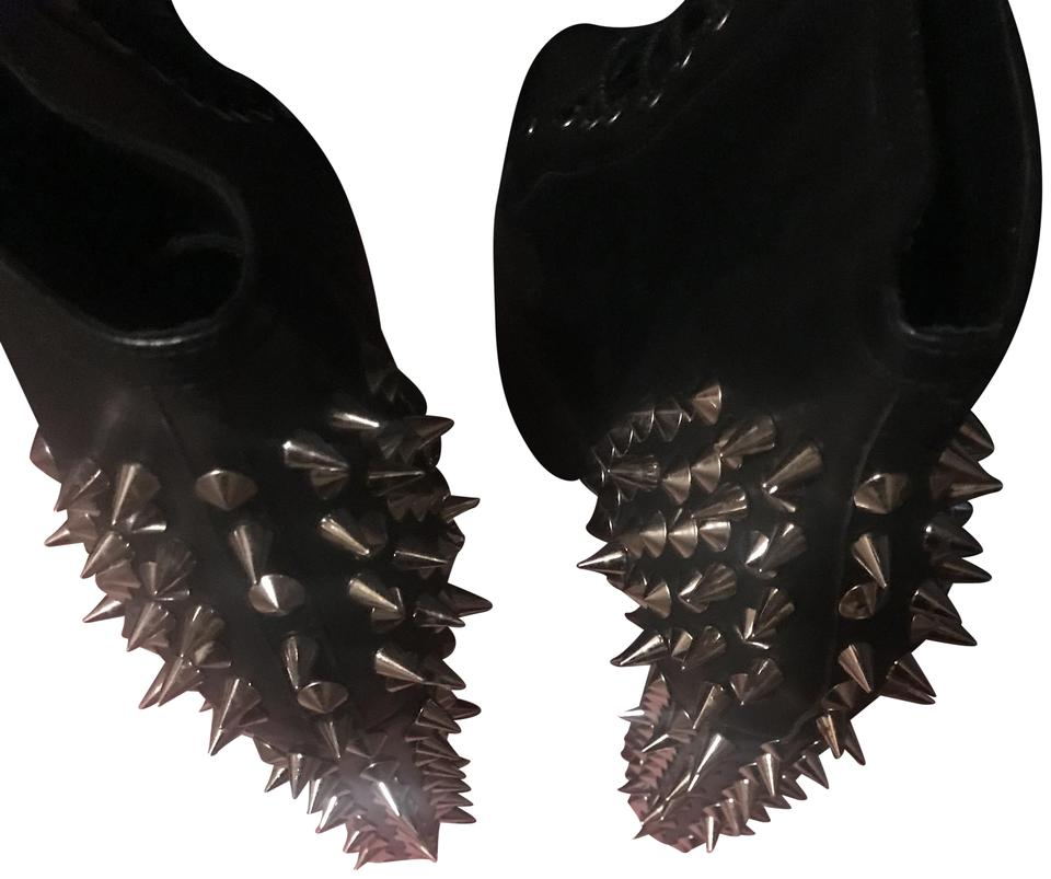 Jeffrey Spiked Campbell Black Spiked Jeffrey Heels Boots/Booties 32ab39