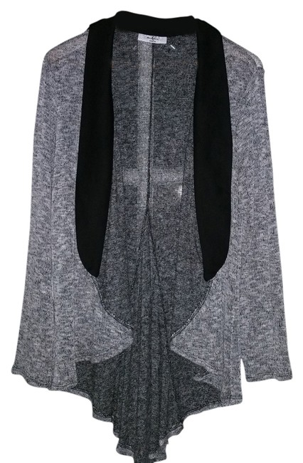 Preload https://item2.tradesy.com/images/moa-moa-gray-with-black-trim-cape-2244676-0-0.jpg?width=400&height=650