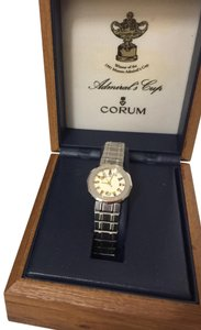 Corum Authentic CORUM Ladies Amirals Cup Stainless and Gold Women Watch